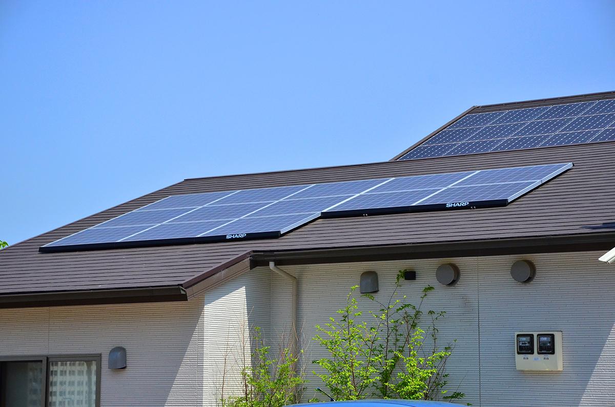 自分の家で使うエネルギーを太陽光発電